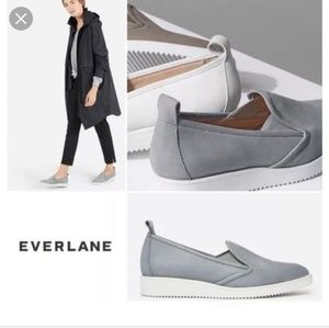 Everlane Suede Street Shoe size 7 Grey